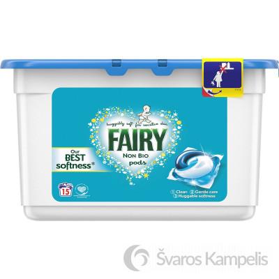 FAIRY Non Bio skalbimo kapsulės 15 vnt