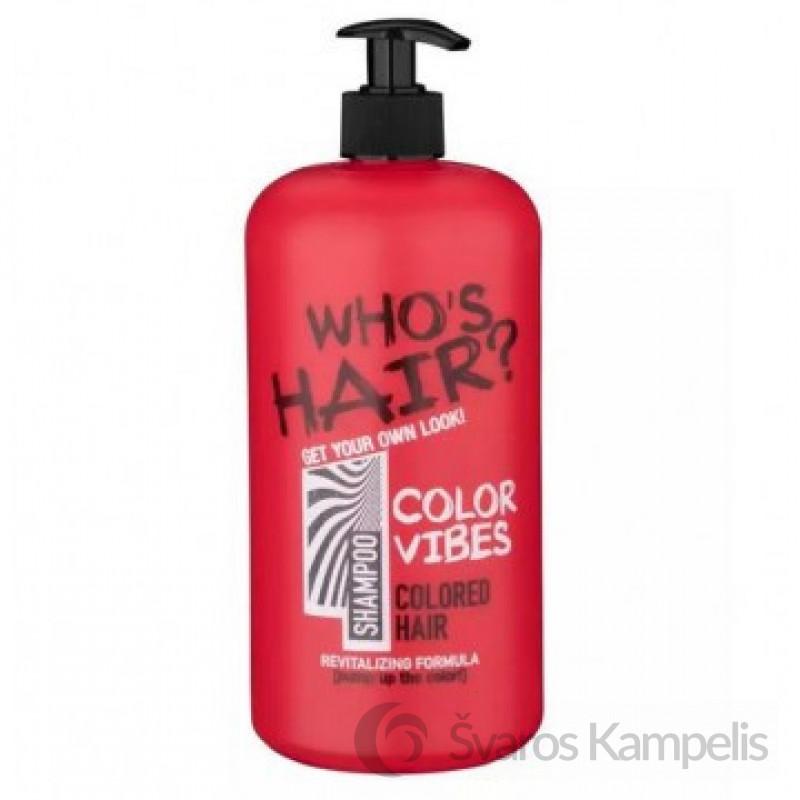 Who's Hair Plaukų Šampūnas Color Vibes 1000 ml.