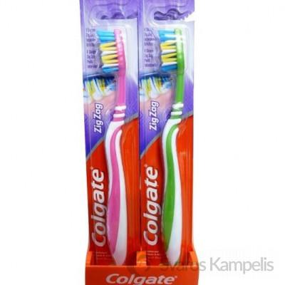 Colgate ZigZag dantų šepetėlis