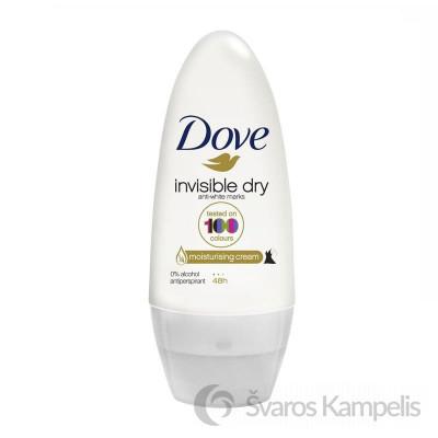 dove rutulinis dezodorantas invisible 50ml