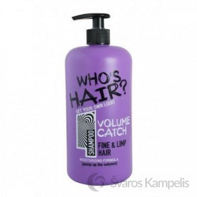 Who's Hair plaukų šampūnas Volume Catch 1000ml.