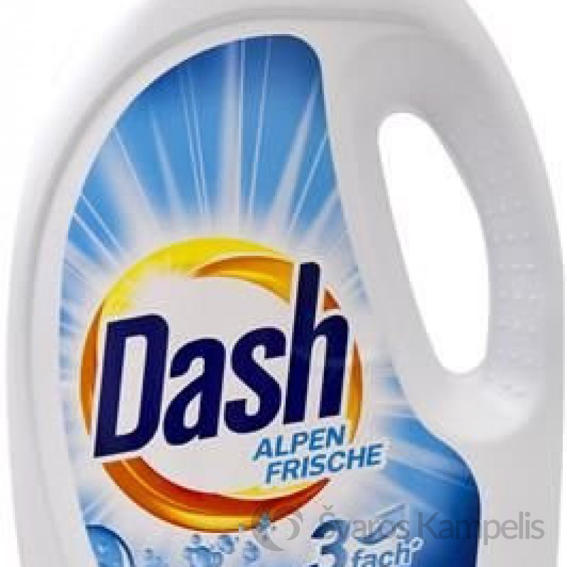 Dash 3in1universal AlpenFrische skalbimo gelis 50 sklabimų/2,75 l