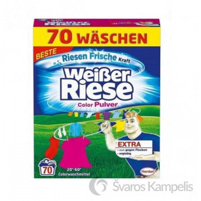 Weiser Riese Color skalbimo milteliai 70skalbimų / 3,85kg.
