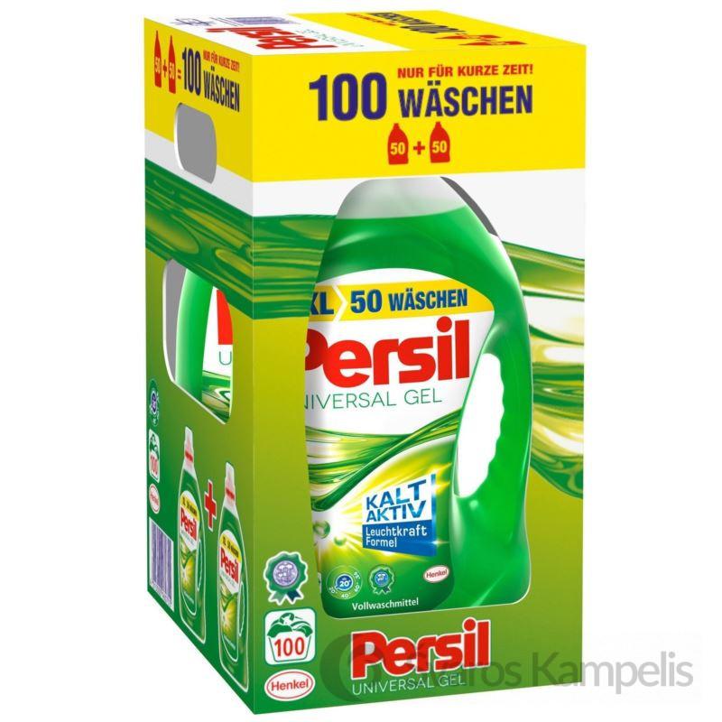 Persil skalbimo gelis 2x50 100sk/ 7,3l Universal