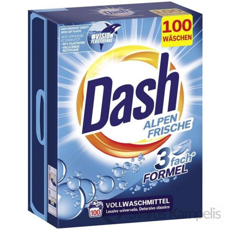 Dash 3in1 100skalbimų/ 6,5kg Alpen skalbimo milteliai