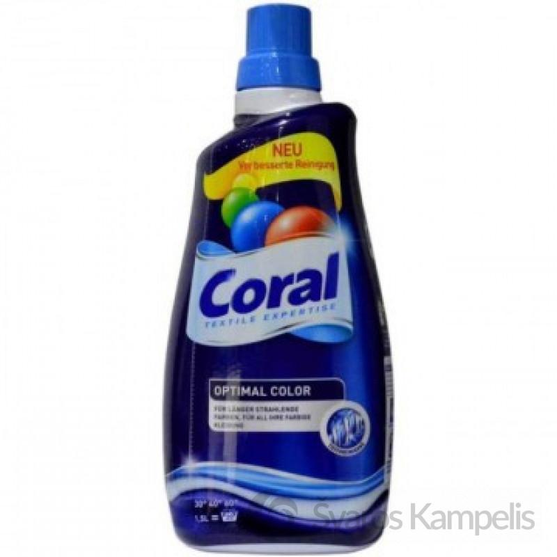 Coral Color skalbimo gelis 1,5 l