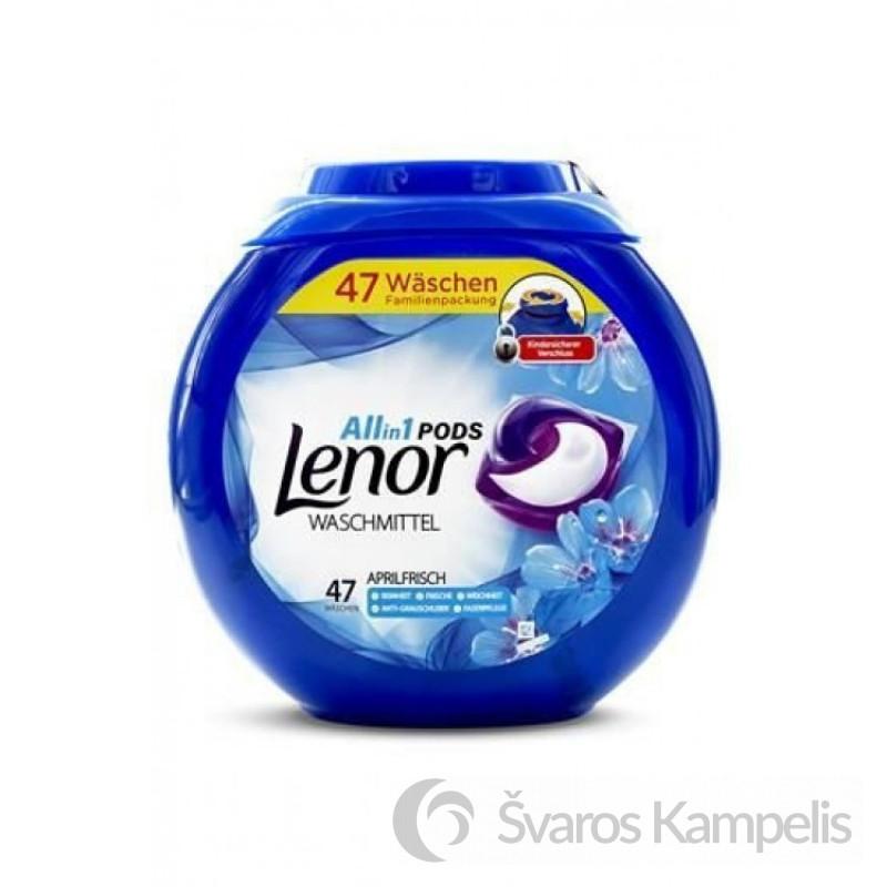 LENOR Spring Awakening 3 in 1 universalios skalbimo kapsulės 47 vnt
