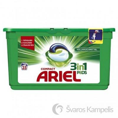 Ariel pods 3in1 universalios skalbimo kapsulės 35 vnt