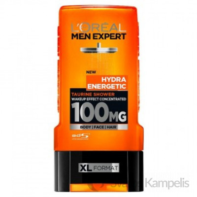 L'Oreal Men 100MG Dušo želė 300 ml