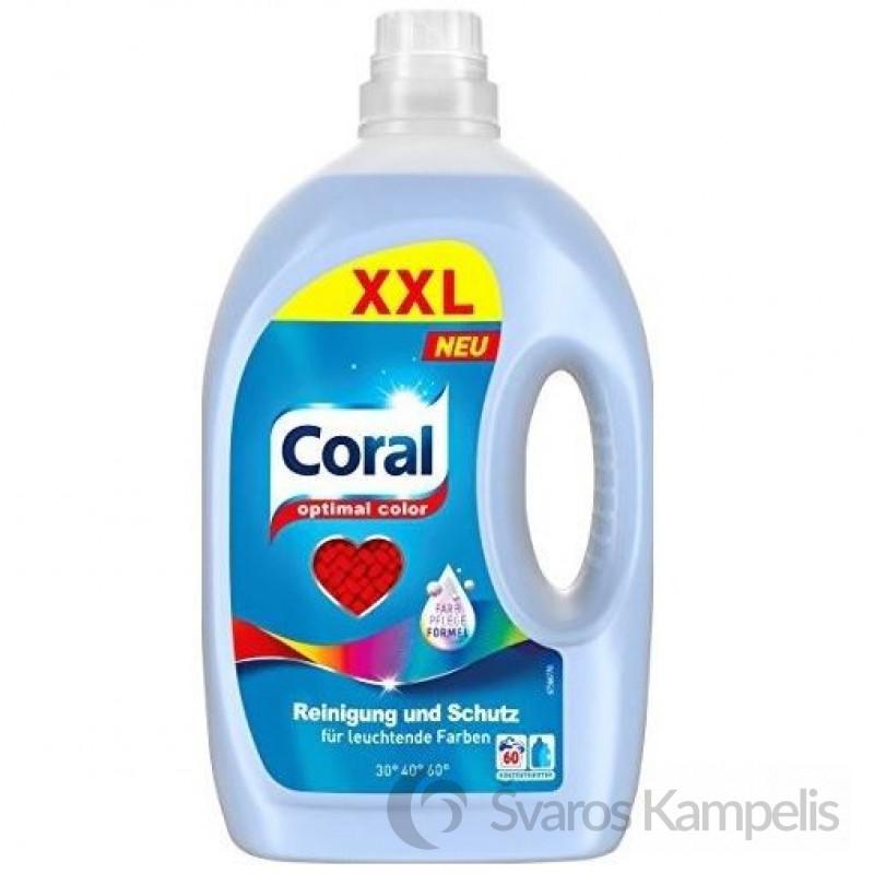 Coral color skalbimo gelis 3l
