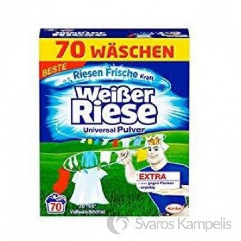 Weiser Riese Kraft Aktiv skalbimo milteliai 70 skalbimų/ 3,85kg .