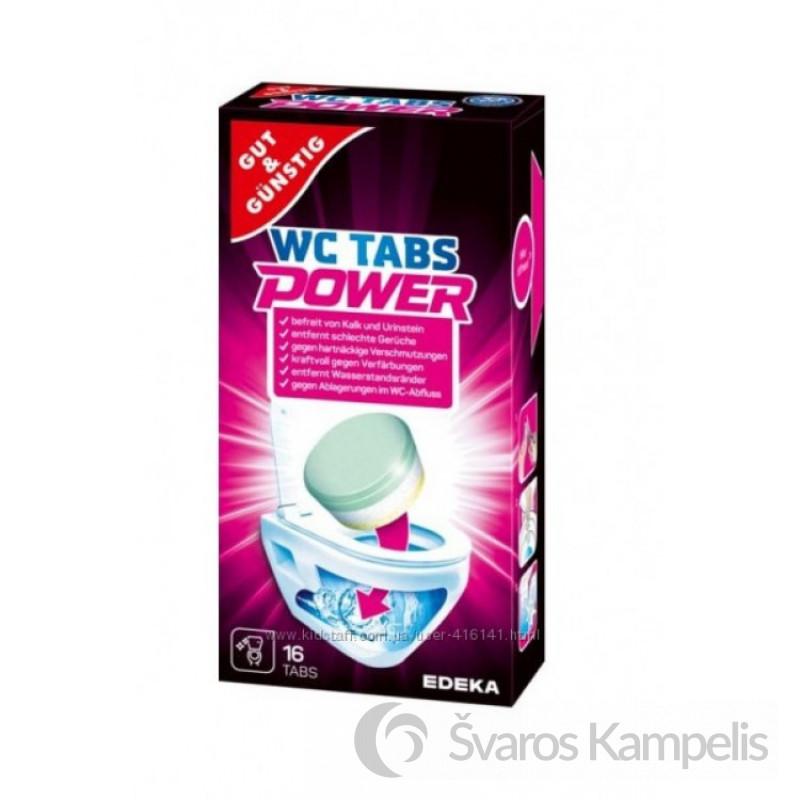 POWER WC tabs šnypščiosios tabletės į tualetą 16 vnt