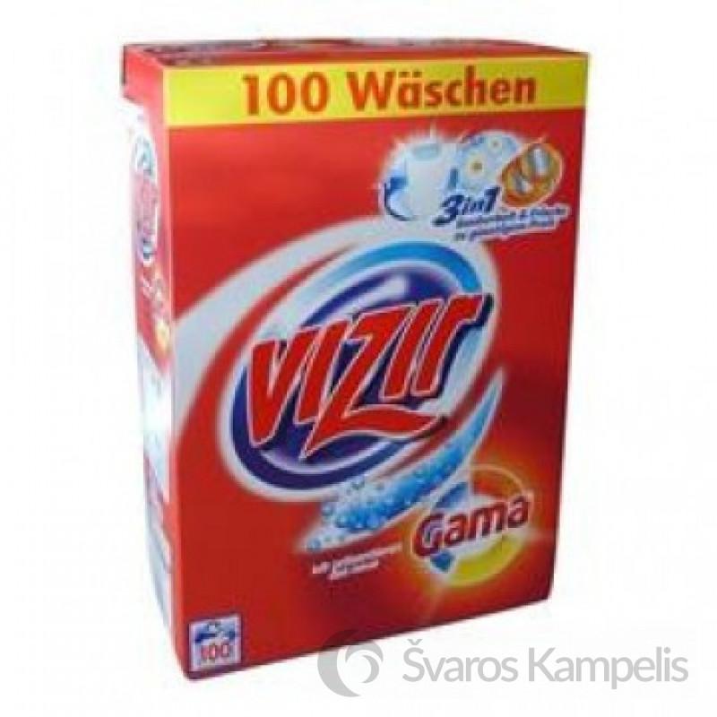 Vizir Gama Skalbimo milteliai 6.5 kg 100 skalbimų