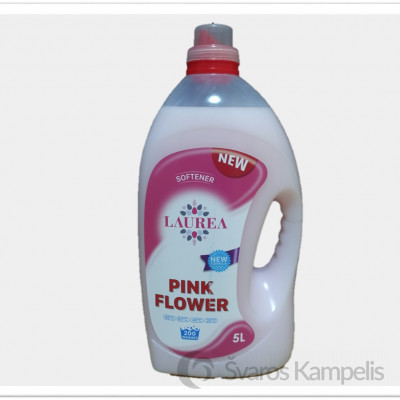 Laurea Pink Flower audinių minkštiklis 200 sk