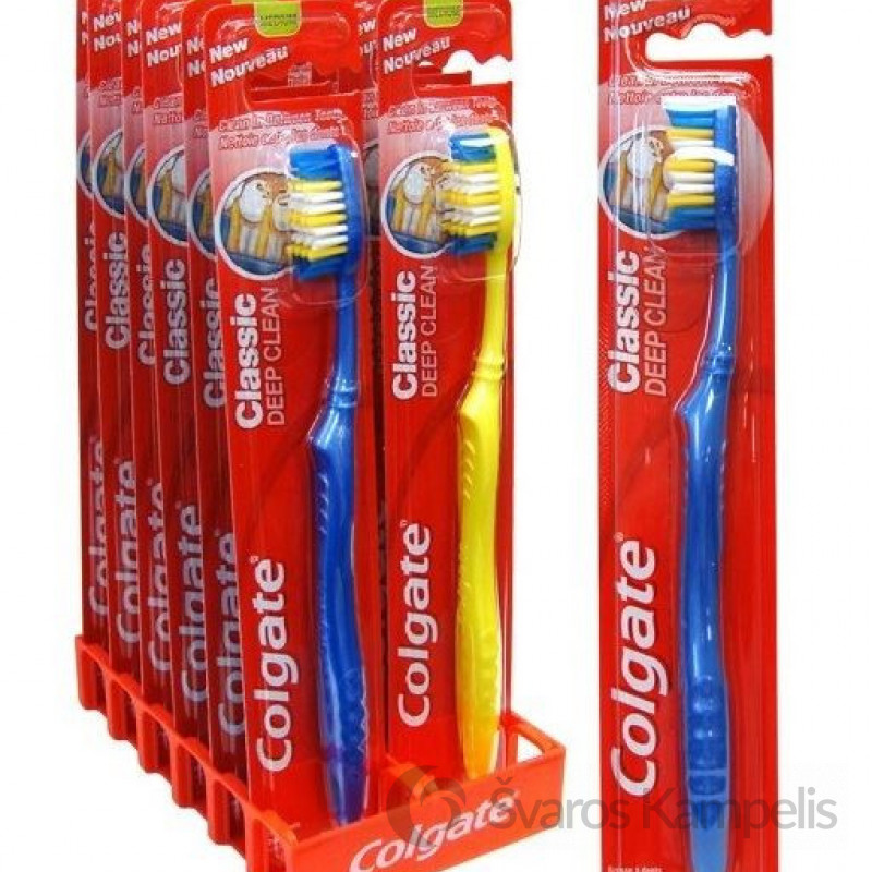 Colgate Medium Deep Clean dantų šepetėlis