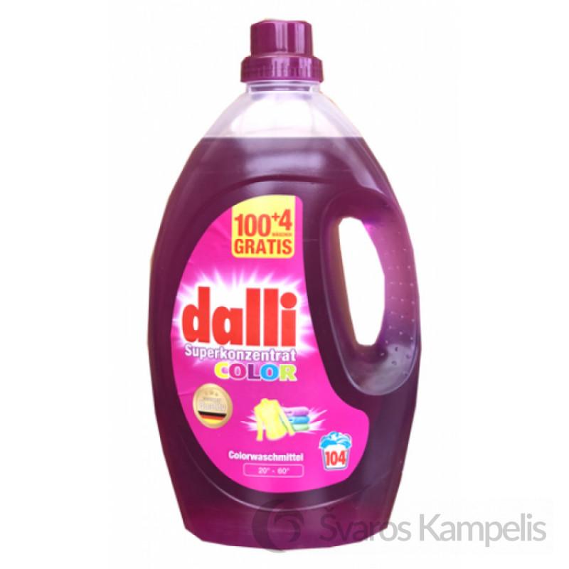 Dalli skystas skalbiklis spalvotiems rūbams 3,65 l