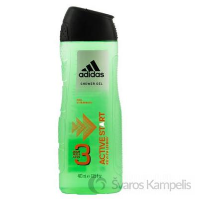 Adidas 3in1 Active Start dušo želė 400ml