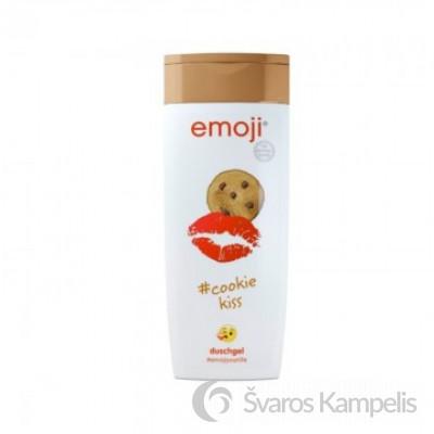 Emoji Cookie Kiss dušo želė 250 ml.