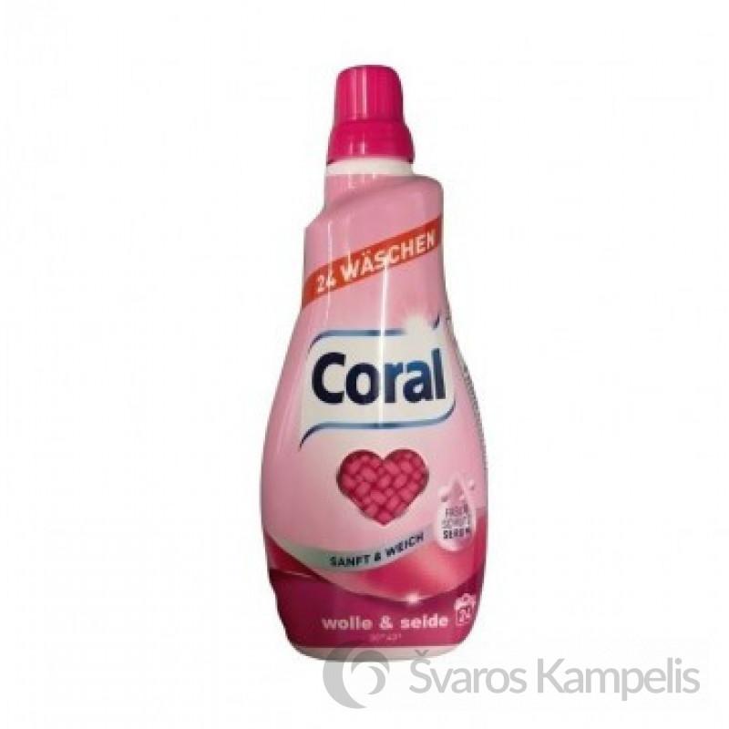 Coral Wolle & Seide skalbimo gelis 1.2l/24sk