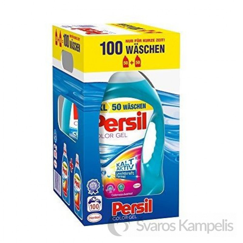 Persil skalbimo gelis 2x50 100sk/ 7,3l Color