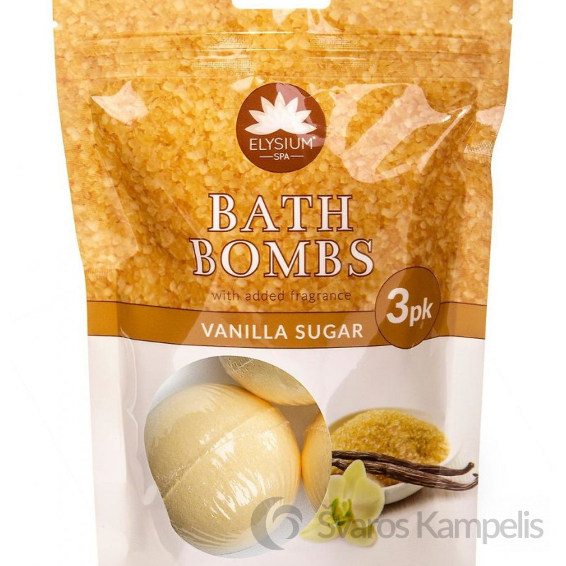 elysium spa vonios burbulai vanilla 3vnt