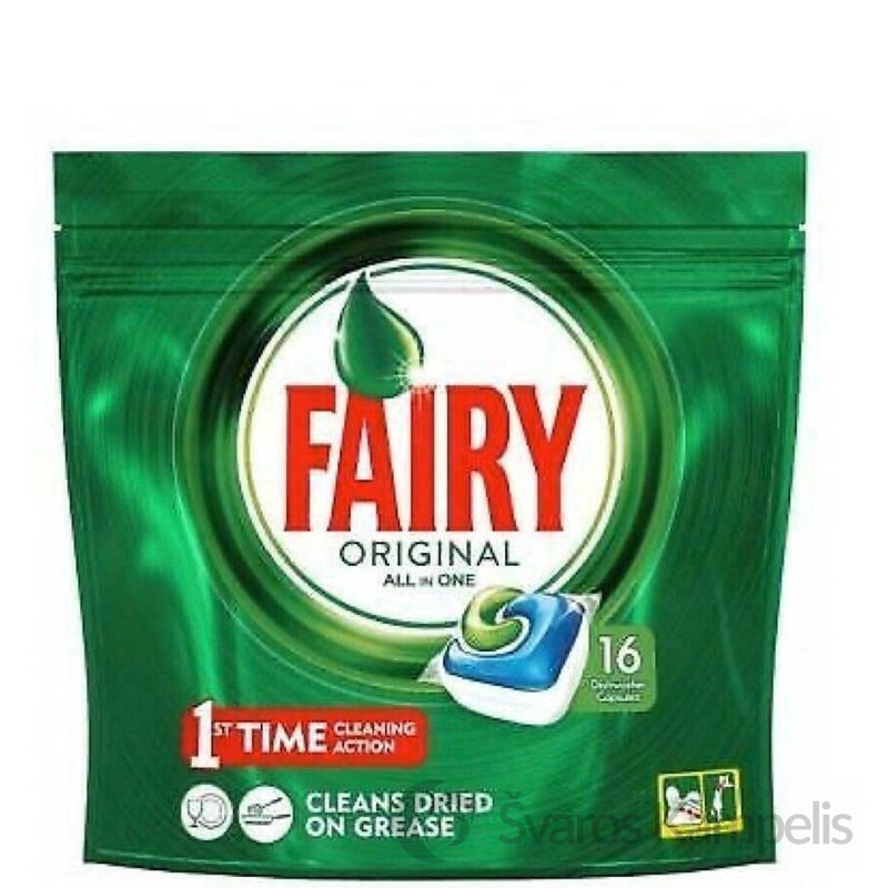 fairy original indaploves kapsules 16vnt