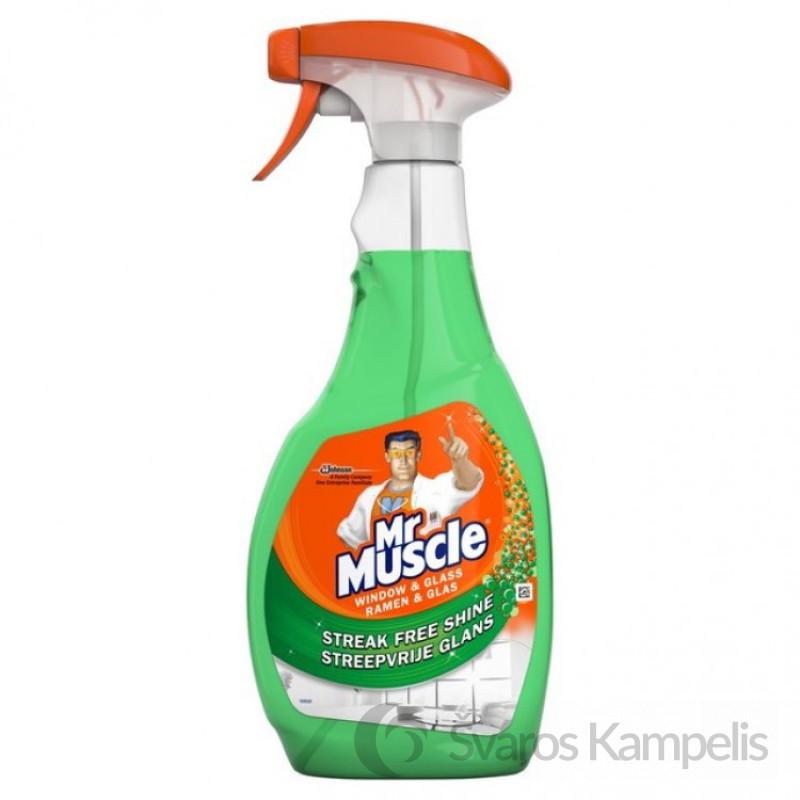 MR MUSCLE purškiamas langų ir stiklų valiklis, 750 ml