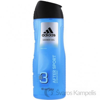 Adidas 3in1 After Sport dušo želė 400ml
