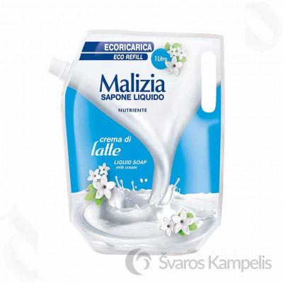 Malizia skystas rankų muilas Latte 1000 ml