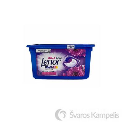 Lenor 3in1 Amethyst Color kapsulės 35 vnt
