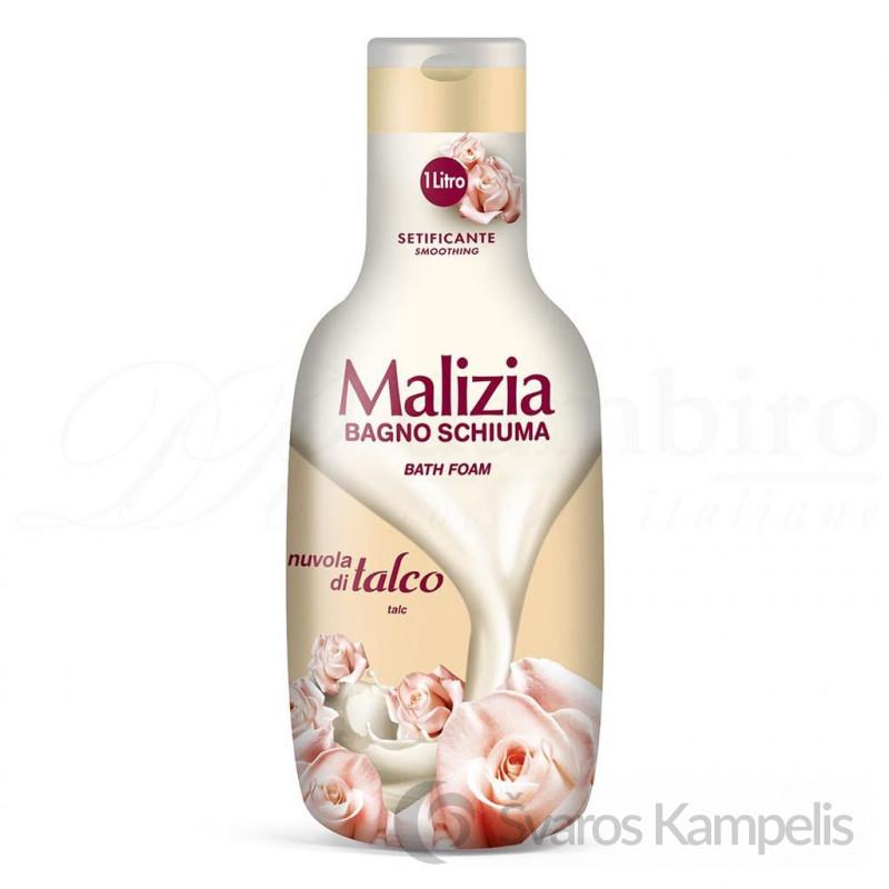 malizia bath foam talco 1000ml (1)