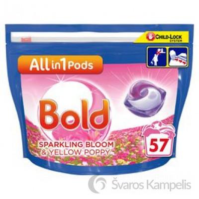 Bold Pods 3 in 1 spring awakening skalbimo kapsulės 51 vnt