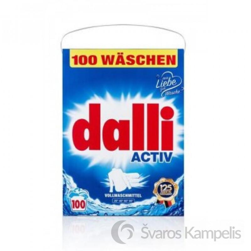 Dalli Activ Plus universalūs skalbimo milteliai 100 sk