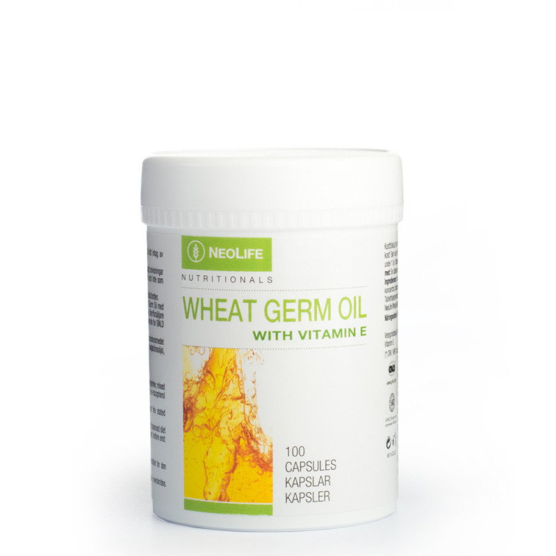 Maisto papildai nervų sistemai Neolife Wheat Germ Oil with Vitamin E