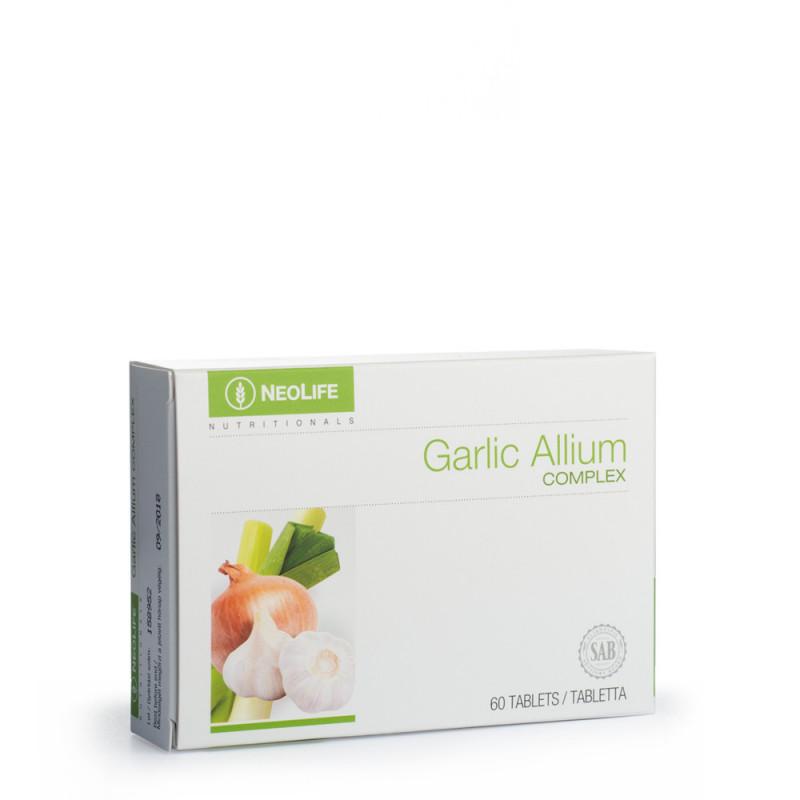 garlic Alium Complex neolife maisto papildai širdžiai saugisvara.lt